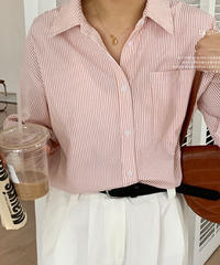 color stripe shirt