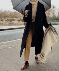 (即納販売)standard double long coat(wool 100%)/3color