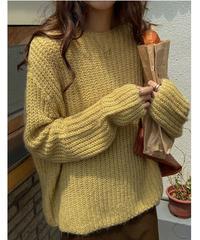 law guage color knit/4color