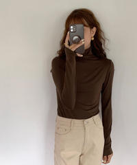 basic turtle neck tops/3color(ネコポス)