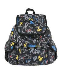 [レスポートサック] lesportsac スヌーピー Voyager Backpack Chalkboard Snoopy 7839 G057 バックパック