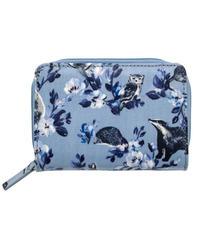 [キャスキッドソン] cath kidston ポケットパース ミニバッジャーズ & フレンズ GREY BLUE 784948 財布