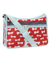 [レスポートサック] lesportsac ツモリチサト Deluxe Everyday Bag in RED RIBBON 7507 G250 ショルダーバッグ