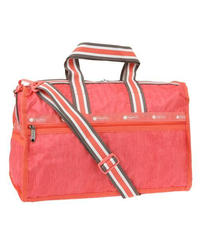 [レスポートサック] lesportsac Medium Weekender in SUGAR CORAL DENIM 7184 E210 ショルダーバッグ