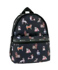 [レスポートサック] lesportsac Basic Backpack TAKE A BOW WOW 7812 E001 バックパック