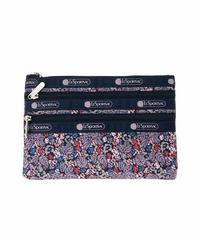 [レスポートサック] lesportsac  3-Zip Cosmetic COVENT GARDEN 7158 E338 ポーチ