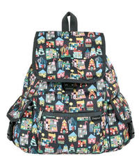 [レスポートサック] lesportsac Voyager Backpack STOCKHOlM SHOP 7839 K386 バックパック