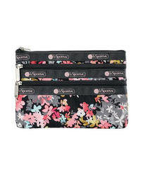 [レスポートサック] lesportsac  3-Zip Cosmetic HELLO BLOOMS 7158 F049 ポーチ