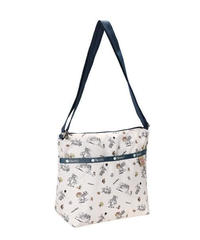 [レスポートサック] lesportsac Tom & Jerry Small Cleo Crossbody Hobo in THE CHASE 7562 K782 ショルダーバッグ