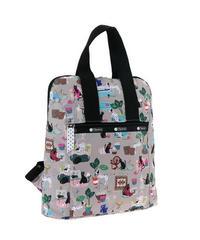 [レスポートサック] lesportsac Everyday Backpack CRAFTY PETS 8240 E309 バックパック