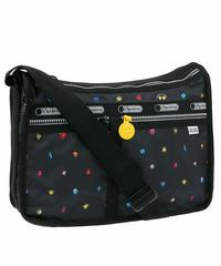 [レスポートサック] lesportsac MR. MEN AND LITTLE MISS Deluxe Everyday Bag in HAPPY LAND 7507 G305 ショルダーバッグ