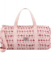 [キャスキッドソン] cath kidston キッズ フォルダウェイオーバーナイトバッグ バレリーナストライプ Pastel Pink 812412 ボストンバッグ