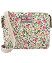 [キャスキッドソン] cath kidston ミニマルチポケットバッグ ヘッジローズ Warm Cream 105006015681102 ショルダーバッグ