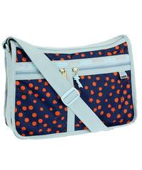 [レスポートサック] lesportsac ツモリチサト Deluxe Everyday Bag CATS DOTS NAVY 7507 G236 ショルダーバッグ