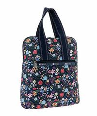 [レスポートサック] lesportsac Everyday Backpack in FLORET NAVY 8240 K634 バックパック