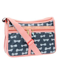 [レスポートサック] lesportsac ツモリチサト Deluxe Everyday Bag in BLUE RIBBON 7507 G249 ショルダーバッグ