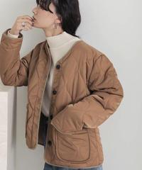 【Bab】キルティングミドルジャケット