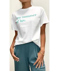SUMMERロゴTシャツ