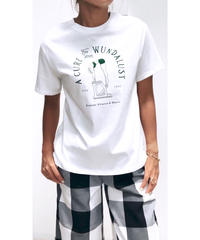 SWIMプリントTシャツ (ホワイト)