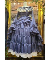 【Triple fortune】トリプルフォーチュン リリウムドレス(濃紺×ゴールド)