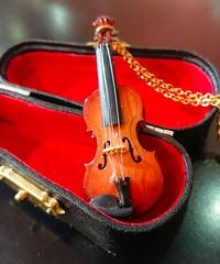 【LIEF】リフ バイオリンネックレス