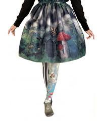 【Morun×Muuna Stoik】モランムーナストイック キノコの誘いスカート(闇夜)