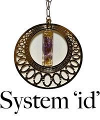 【System'id'】システムイド Flower crystal Necklace  ゴールド/シルバー