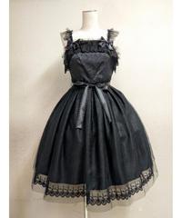 【Pina Sweet collection】ピナスウィートコレクション フェアリーチュールジャンパースカート ブラック