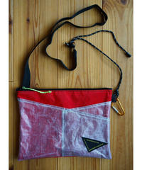 Hiker's SACOCHE (Col: RED / WHITE)