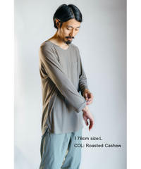 Hiker's RIB T-shirt  (8sleeve)  準備中