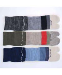 Hiker's SOCKS - STRIPED  (N)