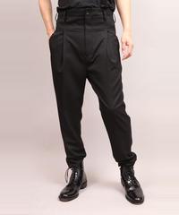 STRETCH TWILL PANTS/BLACK