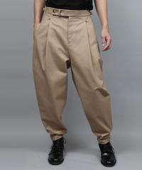 2TACK TAPERD PANTS/BEIGE