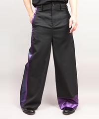 LINE PANTS/BLACK