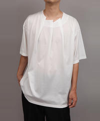 RANDOM TUCK T-SHIRT/WHITE