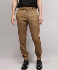 LUMANO TWILL TAPERED PANTS/BEIGE