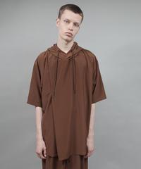 drape hood-T/BROWN