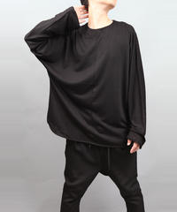 DOLMAN SLEEVE T-SHIRT BLACK