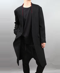 ADJUSTMENT BUTTONS COAT BLACK