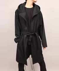HOODED BLOUSON/BLACK