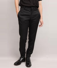 LUMANO TWILL TAPERED PANTS/BLACK
