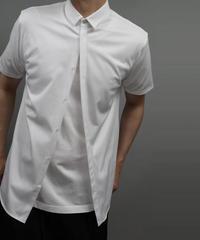 60/2T-CLOTH SHORT POPINT COLLAR SHORT SLEEVE/WHITE