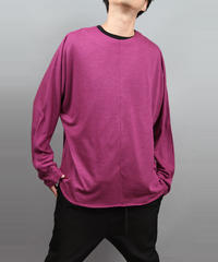 DOLMAN SLEEVE T-SHIRT PURPLE