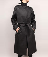 TRENCH COAT/BLACk