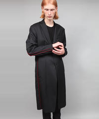 CONCEAL ZIP COAT/BLACK