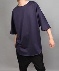 CLOTH BIG SILHOUETTE PULLOVER/PURPLE