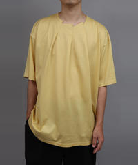RANDOM TUCK T-SHIRT/YELLOW