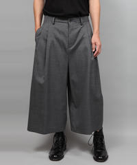 2TACK WIDE PANTS/GRAY