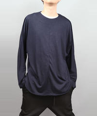 DOLMAN SLEEVE T-SHIRT NAVY