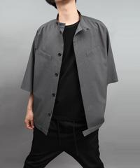 TROPICAL CLOTH SHIRT BLOUSON GLAY
